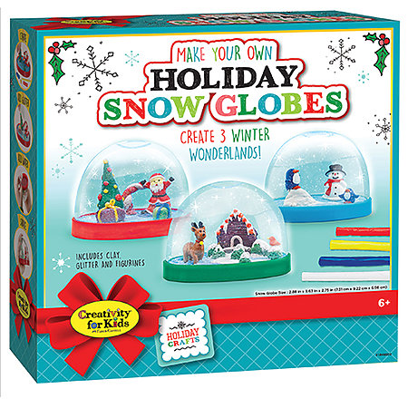 Make Your Own Holiday Snow Globe Kit