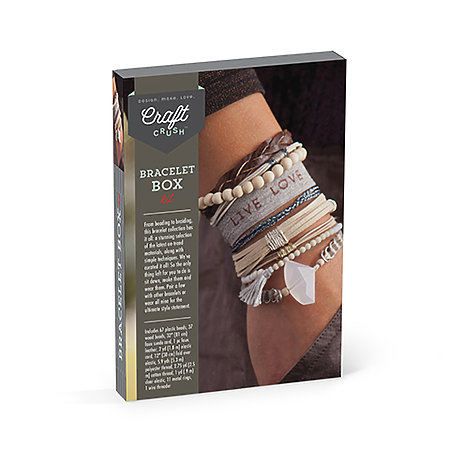Craft Crush Bracelet Box Neutrals Kit
