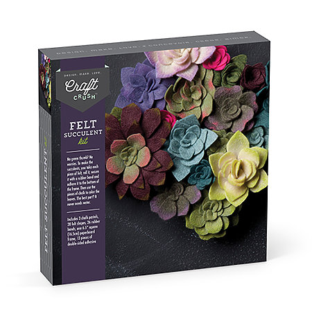 Craft Crush Felt Succulents Kit