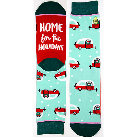 Holiday Crew Cut Socks