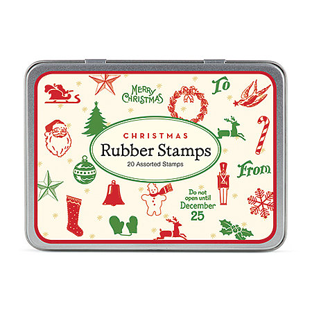 Holiday Rubber Stamp Set