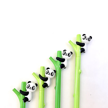Panda Bamboo Gel Pen P.O.P. Display