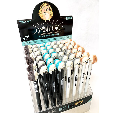 Hedgehog Gel Pen P.O.P. Display