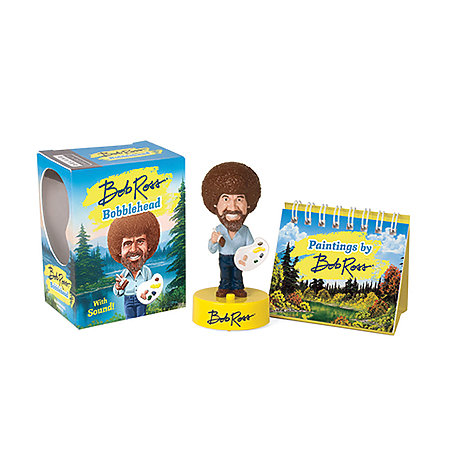 Bob Ross Bobblehead Mini Edition