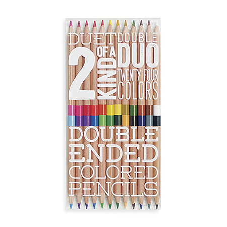 2 of a Kind Colored Pencil Set