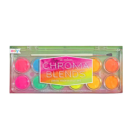 Chroma Blends Watercolor Paint Sets