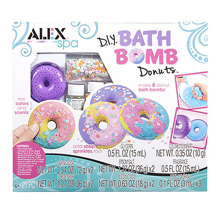Bath Bomb Donuts Kit