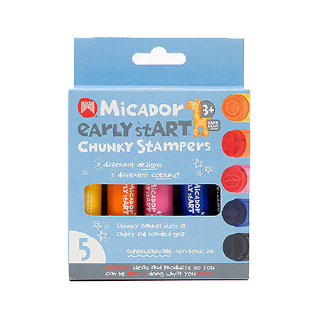 Chunky Stampers 5-Stamp Set