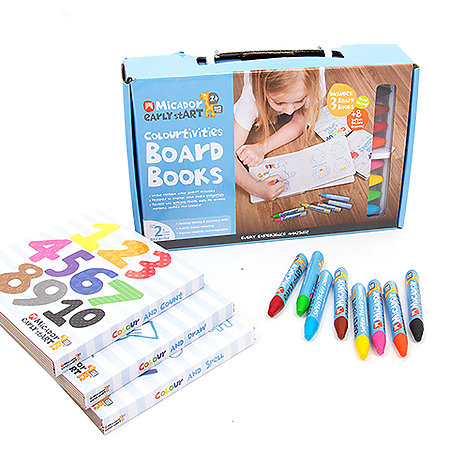 Colourtivities Board Books Set