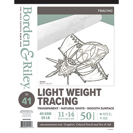 #41 Monroe Triple T Lightweight Tracing Pads