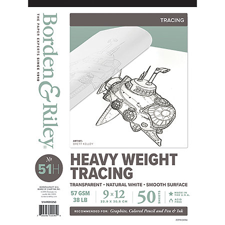 #51 Monroe Triple T Heavyweight Tracing Pads