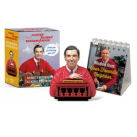 Mister Rogers Talking Figurine Mini Edition