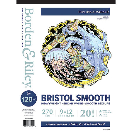#120P Bristol Smooth Pads