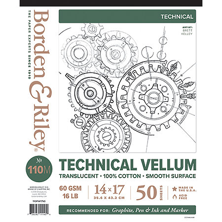 #110M Technical Vellum Pads
