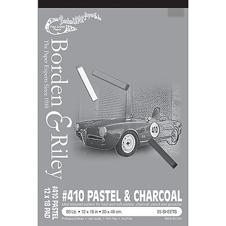 #410 Pastel & Charcoal Paper Pads