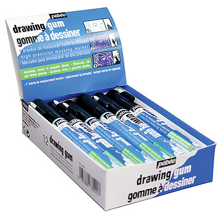 Drawing Gum Markers