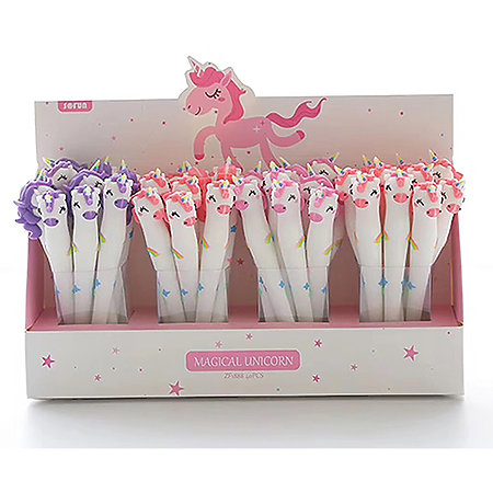 Unicorn Gel Pen P.O.P. Display