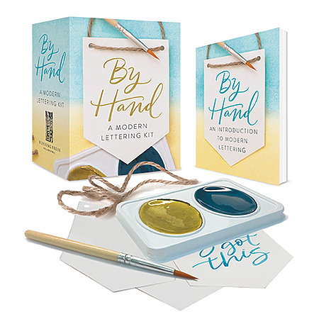 By Hand Lettering Kit Mini Edition