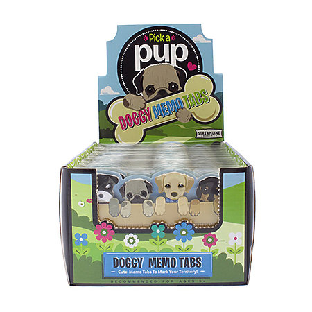 Pick a Pup Memo Tabs P.O.P. Display