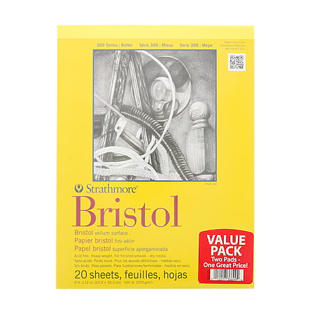 300 Series Bristol Vellum Pad Bundle