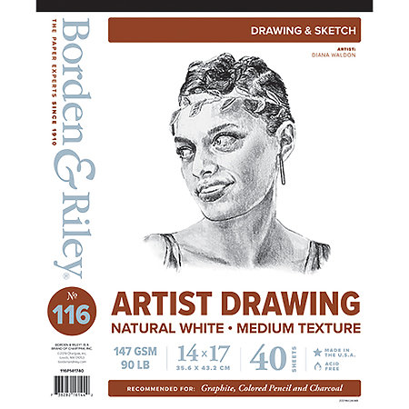 #116 Artist Drawing Paper Pads