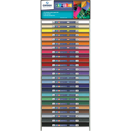 Colorline 150g Sheets Assortment & Display