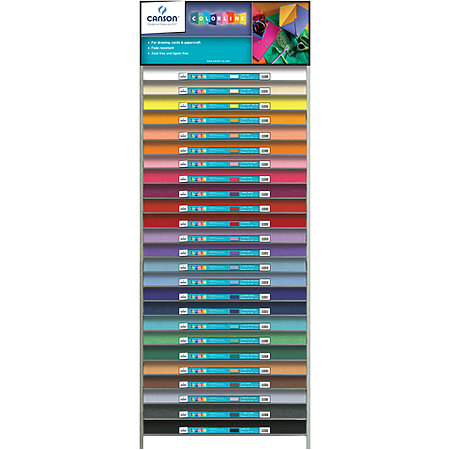 Colorline 300g Sheets Assortment & Display
