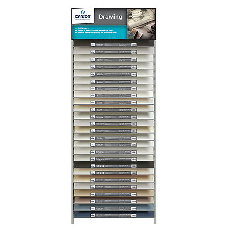 Canson Drawing Sheet Assortment & Display
