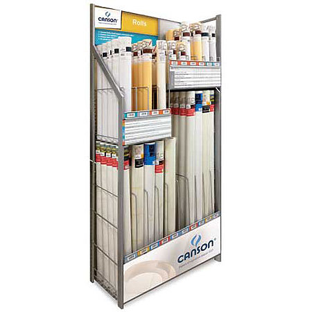 Paper Roll Large In-Line Combination Assortment & Display