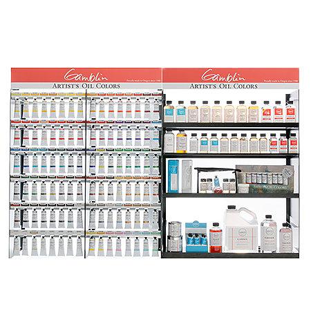 Artist Oil 37ml Full Planogram Assortment Display - 36