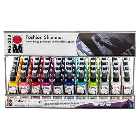 Fashion Shimmer 100ml Assortment Display