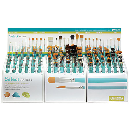 Select Series 3750 Counter Upgrade Assortment Display   36-Styles/174-Brushes