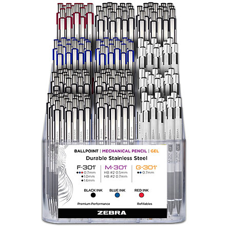 301 Steel Pen & Pencil Assortment Display