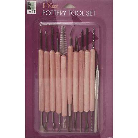 11-Piece Pottery Tool Set
