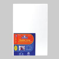 Guide-Line Tri-Fold Foam Display Board