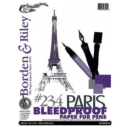 #234 Paris Bleedproof Paper for Pens Pads