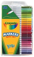 50-Color Super Tips Washable Marker Set