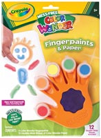 Color Wonder Fingerpaint & Paper Set