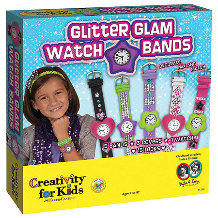 Glitter Glam Watch Bands Kit