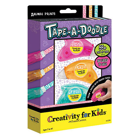 Tape-a-Doodle Animal Print Kit