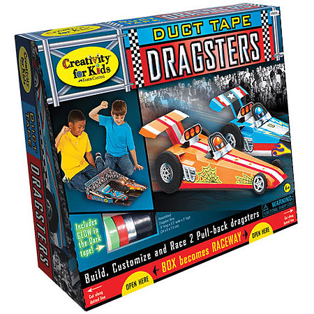 Duct Tape Dragster Kit