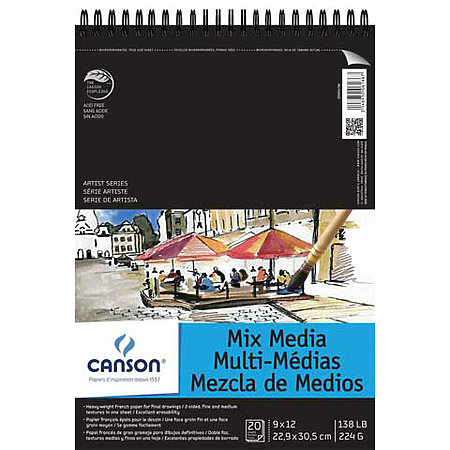 Artist Series Mix Media Pads