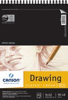 Artist Series Classic Cream Drawing Pads