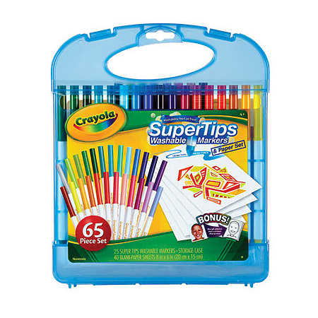 SuperTips Washable Markers & Paper Set