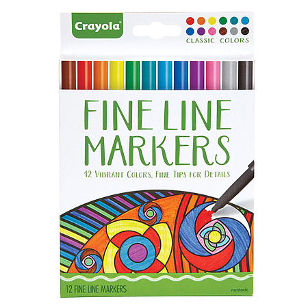 Aged Up Coloring Fineline Marker Sets