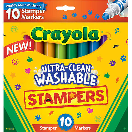 Ultra-Clean Washable Stamper Markers
