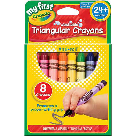 My First Washable Triangular Crayons