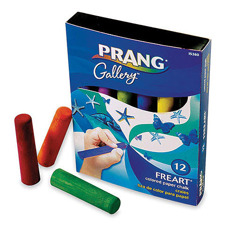 Freart Colored Paper Chalk Set