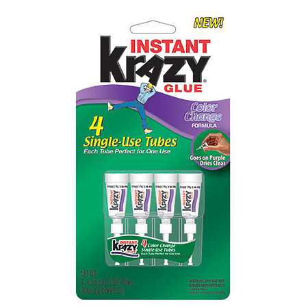 Instant Krazy Glue   Color Change