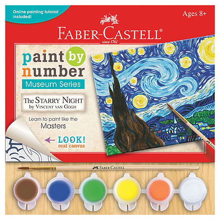 Paint By Numbers Museum Series Kits